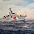 U. S. Coast Guard Cutter Monsoon by William H RaVell III