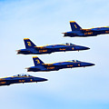 U S Navy Blue Angeles, Formation Flying by Bruce Beck