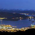 Ulsteinvik By Night by Arild Lilleboe