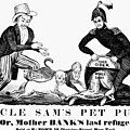 Uncle Sam Cartoon, 1840 by Granger
