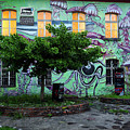 Underwater Graffiti On Studio At Metelkova City Autonomous Cultu by Reimar Gaertner