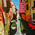 Unfinished Venice Italy  by Neal Barbosa