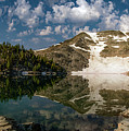 Upper Skytop Lake by Leland D Howard