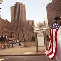 Urban Flag Man by Madeline Ellis