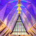 Us Air Force Academy Chapel by Jerry Fornarotto