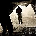 U.s. Air Force Pararescuemen Jump by Stocktrek Images
