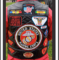 Us Marine Corps Viet Nam Veteran Peart Park Casa Grande Arizona 2005 by David Lee Guss