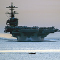 Uss George H.w. Bush by Celestial Images