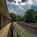 Valley Forge Train Station  by Howard Roberts