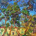 Van Gogh: Hospital, 1889 by Granger