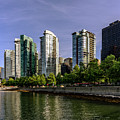 Waterfront Of Vancouver, Canada by Viktor Birkus