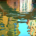 Venetian Mirror - Venice In Water Reflections by Roman Sigaev
