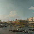 Venice   The Basin Of San Marco On Ascension Day by PixBreak Art