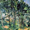 Viaduct by Paul Cezanne