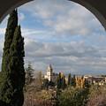 View From An Archway by Lorraine Devon Wilke