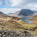 View From Glyder Fawr by Nick Bywater