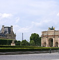 View From The Louvre by Angela Rath