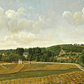 View Of Chatenay by Achille Etna Michallon