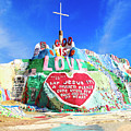 View Of Salvation Mountain by Dominic Piperata