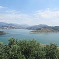 View Of The Lake Near Iznajar by Chani Demuijlder