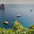 View To The Bay Of Naples by Aivar Mikko