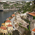 Vila Nova De Gaia And Porto In Portugal by Artur Bogacki