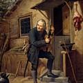 Village Violinist by Carl Gustav