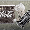 Vintage 1916 Hand Painted Coca Cola Sign by John Stephens