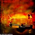 Vintage Car 2 Neons Edition by Ruahan Van Staden