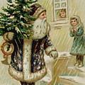 Vintage Christmas Card by American School