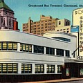 Vintage Cincinnati Postcard by Mountain Dreams
