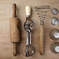 Vintage Cooking Utensils by Nailia Schwarz