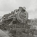 Vintage Steam Locomotive by Edward Fielding