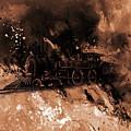 Vintage Train by Gull G