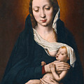 Virgin And Child by Ambrosius Benson