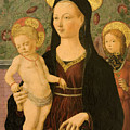 Virgin And Child With An Angel by Francesco del Cossa