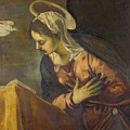 Virgin From The Annunciation To The Virgin by Tintoretto