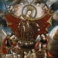 Virgin Of Carmel Saving Souls In Purgatory by Unknown