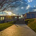 Virginia War Memorial by Aaron Dishner