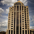 Wachovia Tower Roanoke Virginia by Teresa Mucha