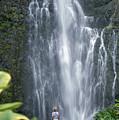 Wailua Falls by Ron Dahlquist - Printscapes