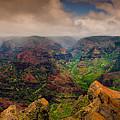 Waimea Canyon by Harry Spitz