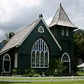 Wai'oli Hui'ia Church by Annie Babineau