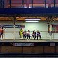 Waiting For The Train by Rosanne Licciardi