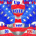 Wake Up America  by Rafael Salazar