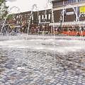Wakefield City Centre Fountain by Ryan Jowitt
