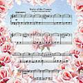 Waltz Of The Flowers Pink Roses by Irina Sztukowski