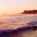 Warm Sunset In Zipolite 3 by Lyle Crump