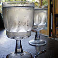 Water Glasses Sweating by Iris Posner