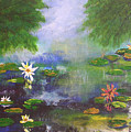 Water Lily Pond by Barbara Harper